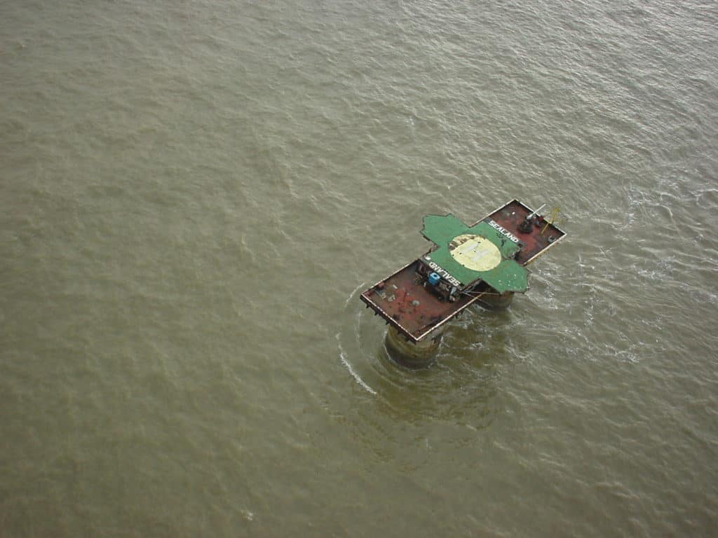 Sealand from the Sky