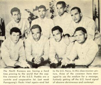 The crew of the USS Pueblo