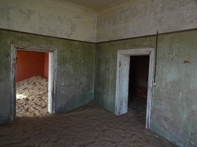 The abandoned city of Kolmanskop