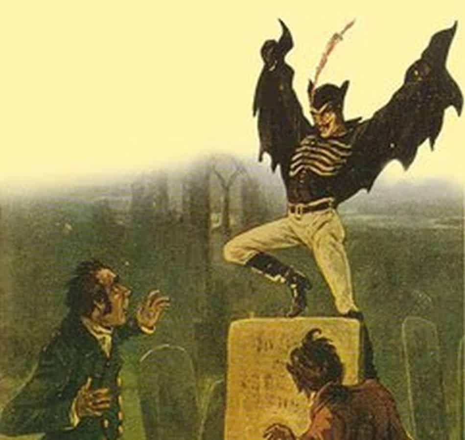 spring heeled Jack the terror of London
